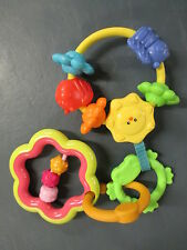 Fisher Price Crib & Others Stroller, Carseat 3 Part Hanging Rattle 3 mo.+ EUC