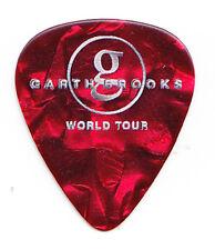 Garth Brooks Red Pearl Guitar Pick - 2015 Tour