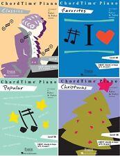 NEW FABER PIANO ADVENTURES CHORDTIME FAVORITE CLASSIC POPULAR CHRISTMAS LEVEL 2B