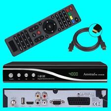 FULL HD Sat Receiver Amstrad MD ✔ Audio Cinch ✔ HDMI ✔ USB ✔ HDTV ✔ 1080p ✔