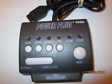 Tyco Power Plug for Sega Genesis Adapter, Cheat Device, Turbo, Slow, Thrash