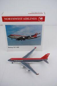 Herpa Wings Northwest Airlines Boeing 747-400 500838 (1:500) Diecast Airplane