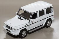 Mercedes-Benz G-Class White, Welly 24012, scale 1:24, model adult boy gift