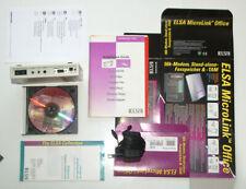 Elsa Microlink Office Modem Analog Stand-Alone AB Fax Modem Tam OVP