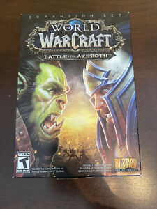 World of Warcraft Battle for Azeroth Expansion  - Brand New And Sealed