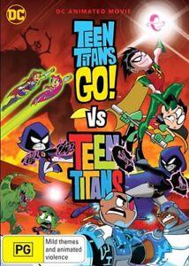 Teen Titans Go - Vs Teen Titans DVD