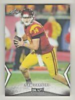 2018 Leaf Draft #54 SAM DARNOLD RC Rookie New York Jets USC Trojans