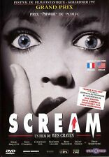 SCREAM / [ DE WES CRAVEN ] / DVD NEUF SOUS BLISTER / VF & VO