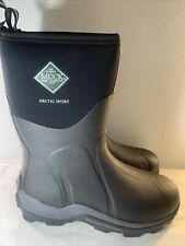 MUCK MEN ARCTIC SPORT MID WATERPROOF INSULATED BOOT BLACK HUNTING Size 12