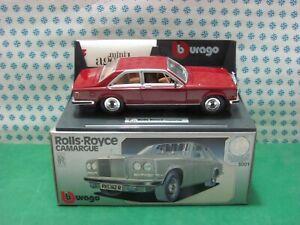 Vintage - Rolls-Royce Camargue - 1/18 Bburago Dasgupta 3001 - MIB