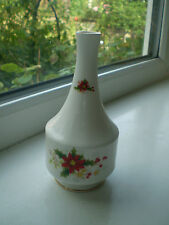 Royal Albert Poinsettia Bud Vase 13 cm Bone China 1st Quality Christmas Red