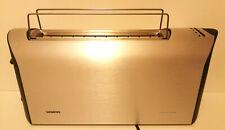 Siemens Porsche Design Aluminium gebürstet Toaster AT7 TT91100/04 Langschlitz