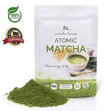 Organic Matcha Ceremonial Green Tea Powder with Atomic Grade 3oz