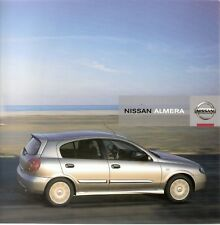 Prospekt / Brochure Nissan Almera 11/2005
