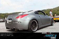 AEROKIT SPEC J1 for 350Z DRIFT body kit bodykit REAR bumper LIP spoiler BLACK
