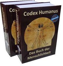 Codex Humanus - das Buch der Menschlichkeit versandkostenfrei kaufen (Deutschl.)