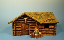 Lineol / Elastolin - Wild West – Blockhaus – 7cm Serie