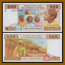 Central African States, Cameroon 500 Francs, 2002 P-206U Unc