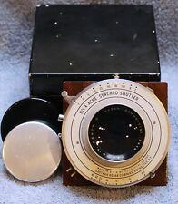 Kodak Commercial Ektar 10'' f/6.3 Large Format Lens in No 4 Acme w/Orig Wood Box