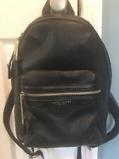 Marc Jacobs Backpack (black pebbled leather)