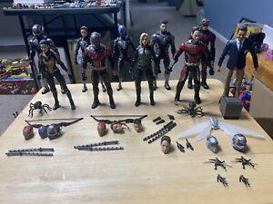 Marvel Legends MCU Ant-man Luis Infinity War Endgame - Lot Of 10 Figures - USED