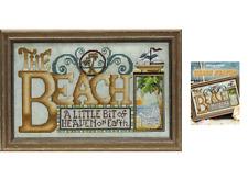 STONEY CREEK Cross Stitch Pattern Leaflet BEACH HEAVEN 527