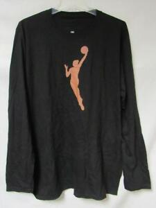 WNBA Primary Logo Men's Size Small or Large Long Sleeve T-Shirt A1 3712