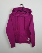 VTG WOMENS PINK USA CHAMPION ATHLETIC SPORTS OVERHEAD SWEATSHIRT HOODIE VGC 10