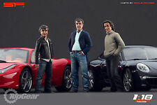 1/18 Grand Tour ( Top Gear Trio ) VERY RARE!!! figures for1:18 Autoart Ferrari