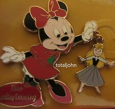 Disney Store Twelve Days of Christmas 2009 Minnie Mouse Nine Ladies Dancing Pin