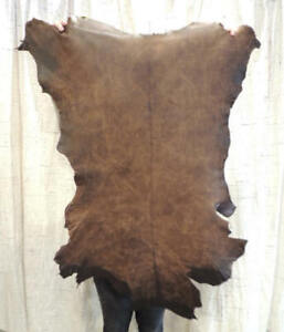 Waxy OLD WEST Full Grain Leather Hide for Native Crafts Buckskin Journals Bible
