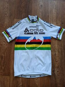JERSEY CYCLING ODLO RAINBOW SWISSPOWER UCI PRO TOUR SCOTT SIZE S