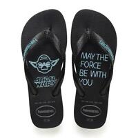 Havaianas Men's Star Wars Flip Flops - Black/Blue NWT