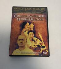 Crouching Tiger, Hidden Dragon Dvd