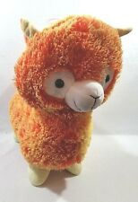 "15"" orange DOLLY LLAMA large plush stuffed animal Brand New!! With Tags Fluffy"