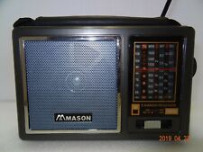 Mason 5 Bands World Receiver And MP3 Player # RM894