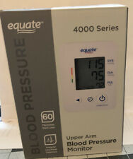 EQUATE 4000 SERIES UPPER ARM BLOOD PRESSURE MONITOR/ USED/ Excellent Condition