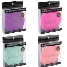 Round Silicone Makeup Brush Cleaner Tool Cosmetic Cleaning Mat Suction Back