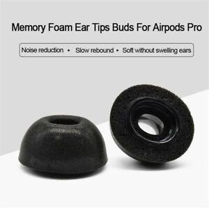 Earbuds Cover Memory Foam Ear Tips Earplugs Cap For Apple Airpods Pro