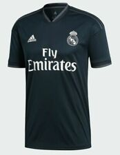 $90 NEW Sizes Mens S M L XL Adidas Real Madrid FC Away Futbol Jersey Soccer NWT