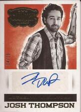 Panini Country Music Signature Gold Josh Thompson Autograph S-JT /25