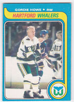 79-80 OPC Gordie Howe Whalers O-Pee-Chee 1979 OC