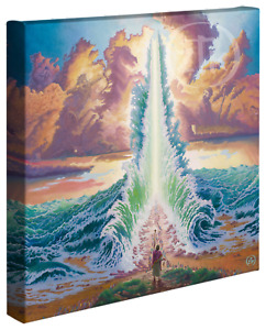 Zac Kinkade Exodus 14 x 14 Gallery Wrapped Canvas
