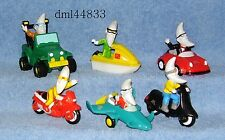 1990 McDonalds Mac Tonight Travel Complete Set - Lot of 6, Boys & Girls, 3+