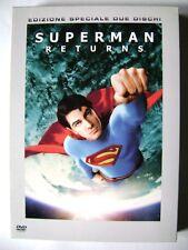 Dvd Superman Returns - Edizione Speciale 2 dischi slipcase di Bryan Singer Usato