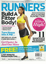 RUNNER'S WORLD, APRIL, 2013   (  THE UK'S NUMBER ONE  RUNNING MAGAZINE )
