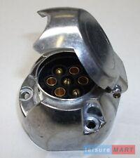 12N 7 Pin Metal Towing Socket for Trailer or Caravan 12 Volt 12 N Aluminium