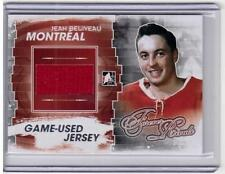 JEAN BELIVEAU 11/12 ITG Forever Rivals LIMITED SILVER Jersey /9 SP M-60