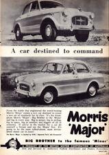 """1958 MORRIS MAJOR BMC AD A1 CANVAS PRINT POSTER 33.1""""x23.4"""""""