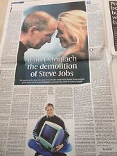 Apple STEVE JOBS The Last Days Special UK Sunday Times March 2015